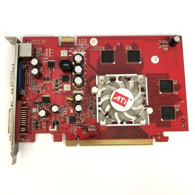 Б/У Видеокарта ASUS GeForce® 7300 GT 256 Мб DDR2 PCI-E D-Sub+DVI+TV Out EN7300GT