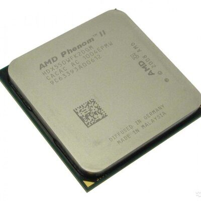 Процессор  AMD Phenom II X2 550 (HDX550W) 3.1 GHz /2core/1+6 Mb/80W/4000 MHz Socket AM3/AM2