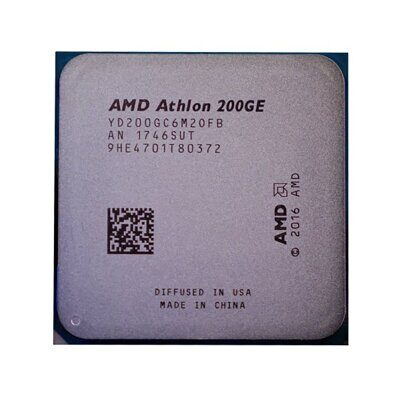 Процессор AMD Sock_AM4 Athlon 200GE (3,2GHz,2ядра/4потока,5Mb,35Вт) oem