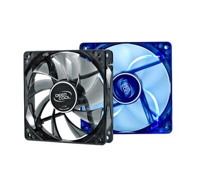 Вентилятор для корпуса 120x120x25 mm Deepcool WIND BLADE 120 120x120x25 3pin 27dB 1300rpm 119g голуб