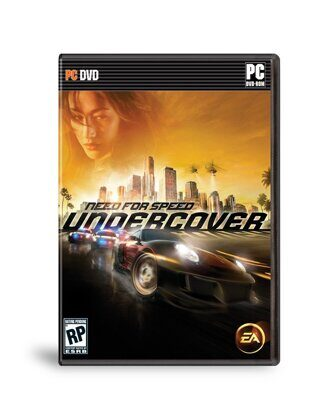 Need for Speed Undercover DVD