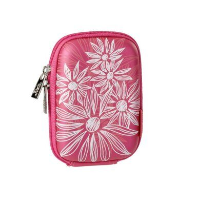 Чехол Riva 7022 (PU) Digital Case crimson pink (flowers) розовый
