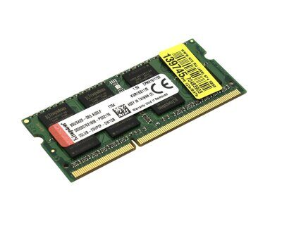 Оперативная память DDR3 SODIMM Kingston ValueRAM 8Gb PC3-12800 CL11 KVR16S11K2/16